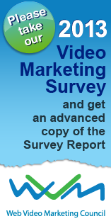 Flimp WVMC 2013 Online Video Marketing Survey