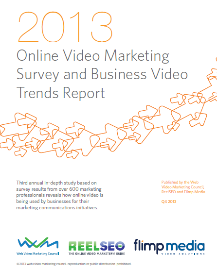 2013 Online Video Marketing Survey and Business Video Trends Report