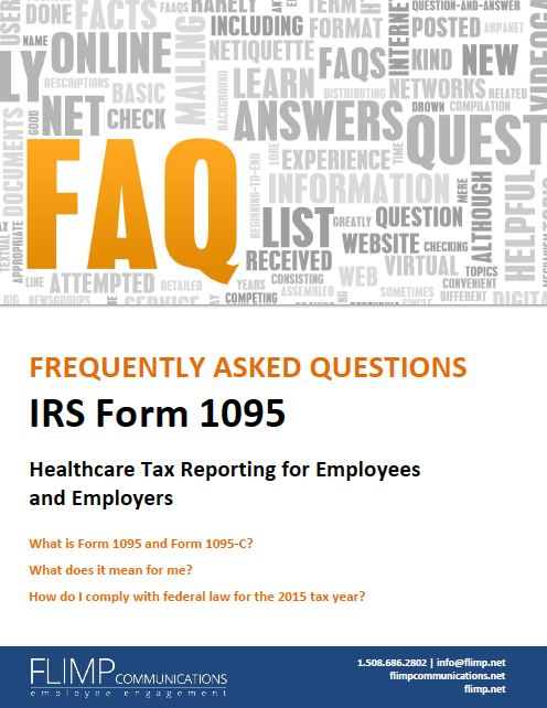 Irs Form 1095 Mandatory Healthcare Tax Reporting For Employees And