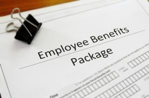 employee benefits enrollment paperwork