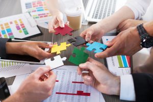 HR teams communications strategy puzzle