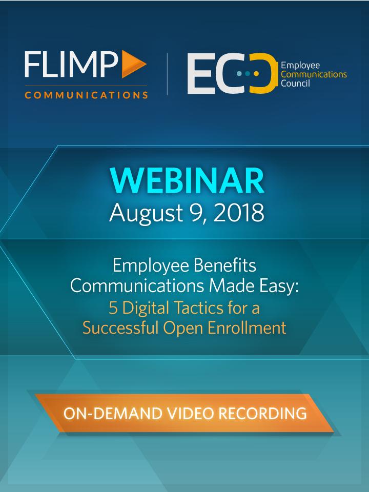 Webinar - Employee Benefits Made Easy: 5 Digital Tactics for a Successful Open Enrollment