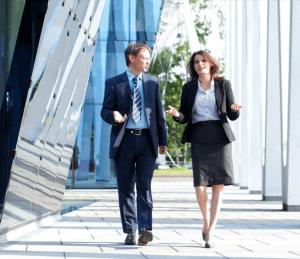 take a walk to improve health and wellness at work